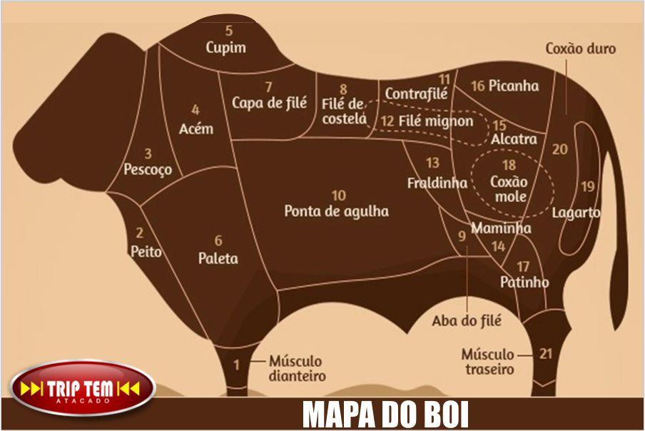 aba-do-file - mapa do boi - cortes de carne bovina